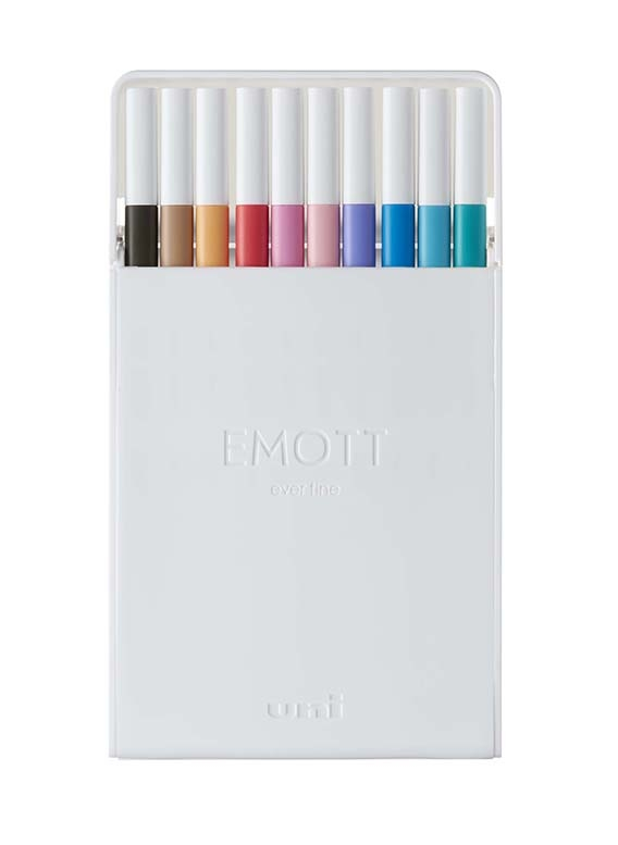 EMOTT fine liner sada 10ks mix barev